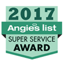 Angie's List Super Service Award 2017 icon.